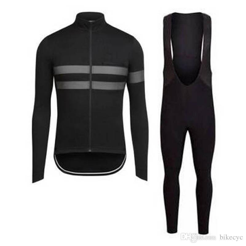 RAPHA SIDI takım Bisiklet uzun Kollu jersey bib pantolon setleri mens hızlı kuru ropa ciclismo MTB elbise yarış giyim C1418