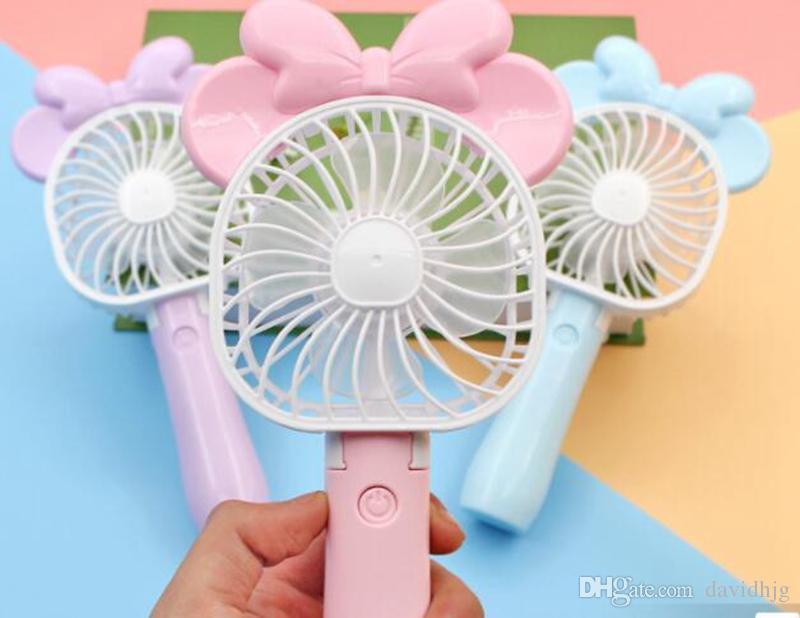 Мини складной Портативный вентилятор мультфильм Cat USB аккумуляторная складная портативный летний охладитель воздуха вентилятор охлаждения Портативный вентилятор детские игрушки ZB012/14