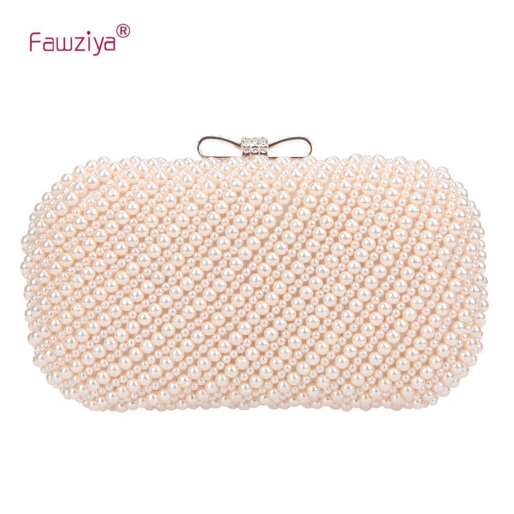 c2065805a0 Fawziya Bow Purses And Handbags Pearl Clutch Evening Bag Designer Handbags  On Sale Wholesale Purses From Wearbag