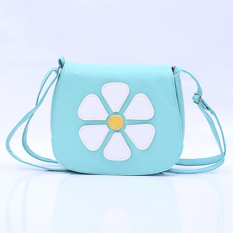 QZH Cartoon Little Girl Messenger Bags Flower Zipper Crossbody Book Bag For  Girls Kids Mini Party Shoulder Bags Children Gifts Messenger Bag Bag for  Bags ... ff1b518739e43