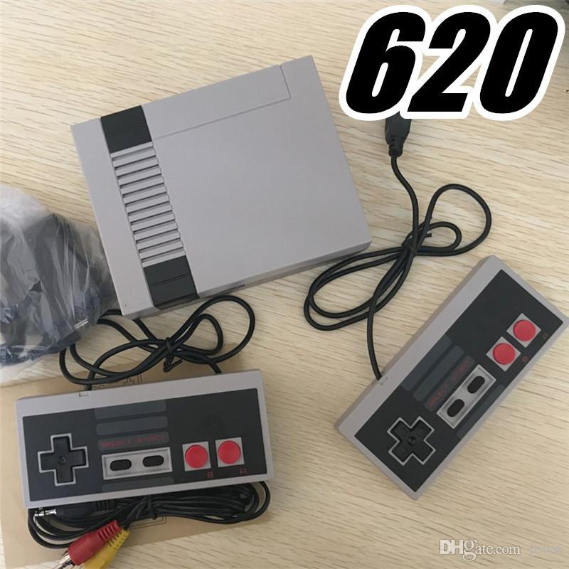 DHL New Arrival Mini TV Game Console Video Handheld for NES games consoles with retail boxs