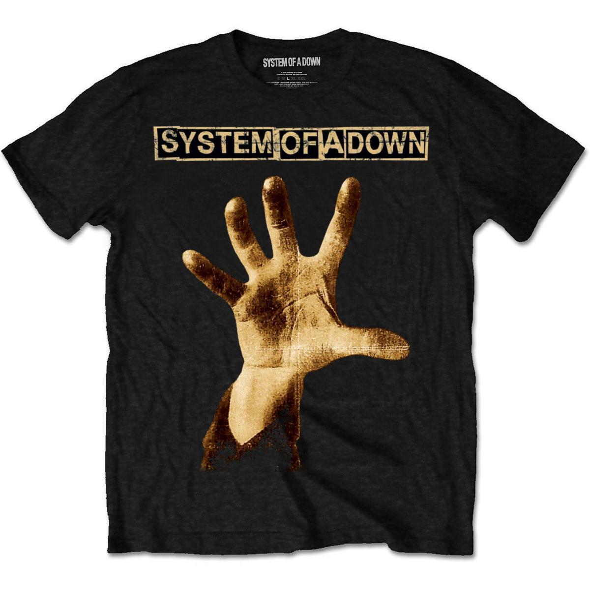 System Of A Down T Shirt SOAD Album Cover Festival Disturbed Slipknot Korn