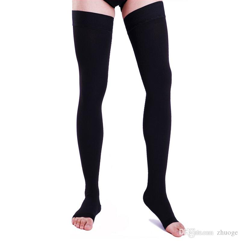 3cf3b2ecac Compression Socks Anti Fatigue Unisex Varicose Vein Stockings Travel DVT  Comfort Varicose Veins SocksStockings Compression Socks Calf Sleeve Online  with ...