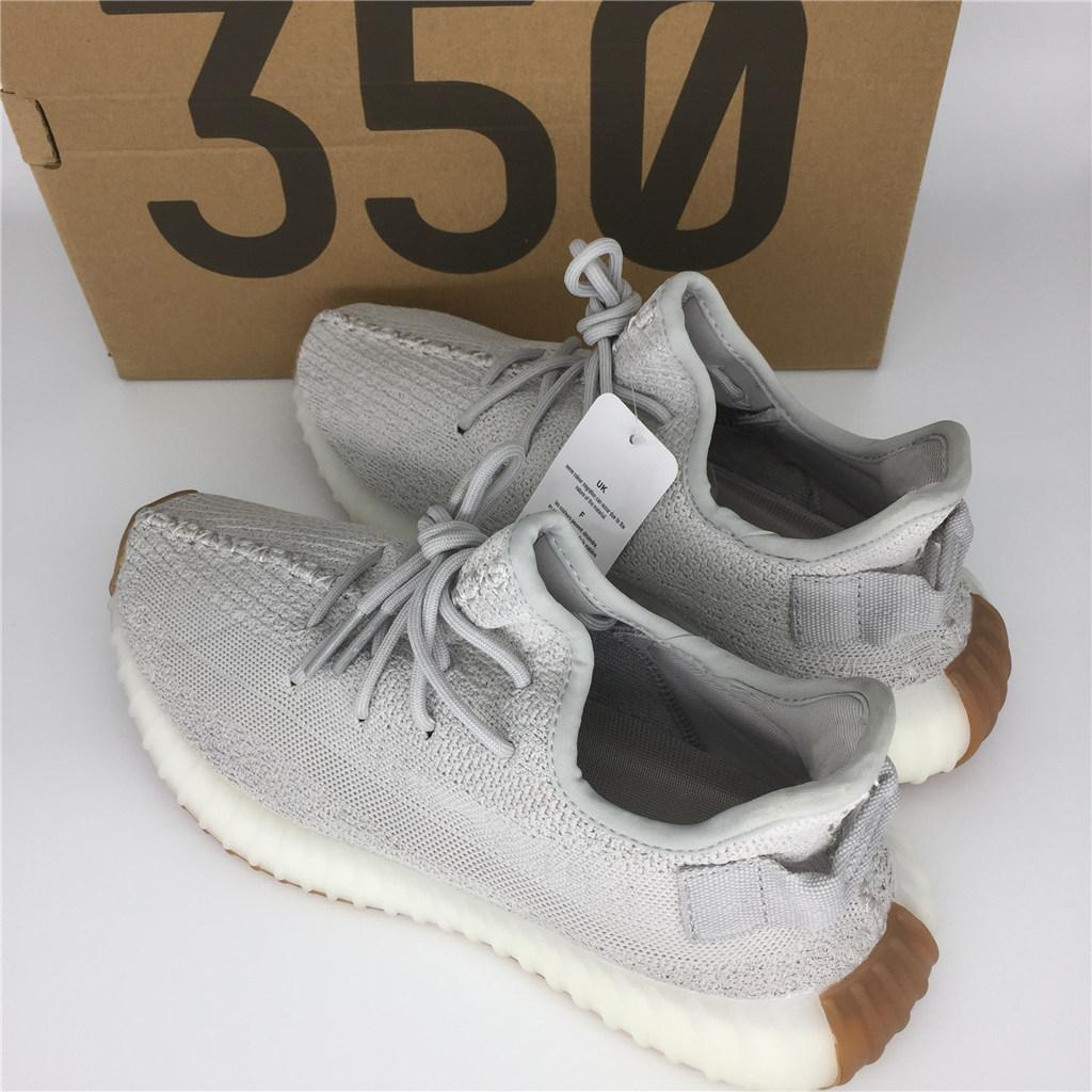 7472180e2b4e8 2019 2018 New 350 V2 Butter Ice Yellow F36980 Sesame F99710 Zebra Cp9654 Bred  Cp9652 Cheap Kanye West Running Shoes For Sale Us 5 13 With Box From  Missqian