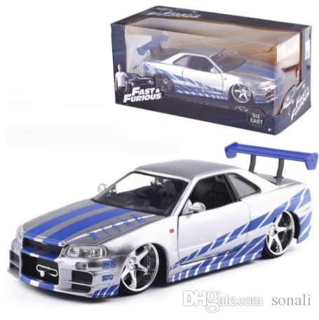 Fast and furious nissan skyline gtr with you