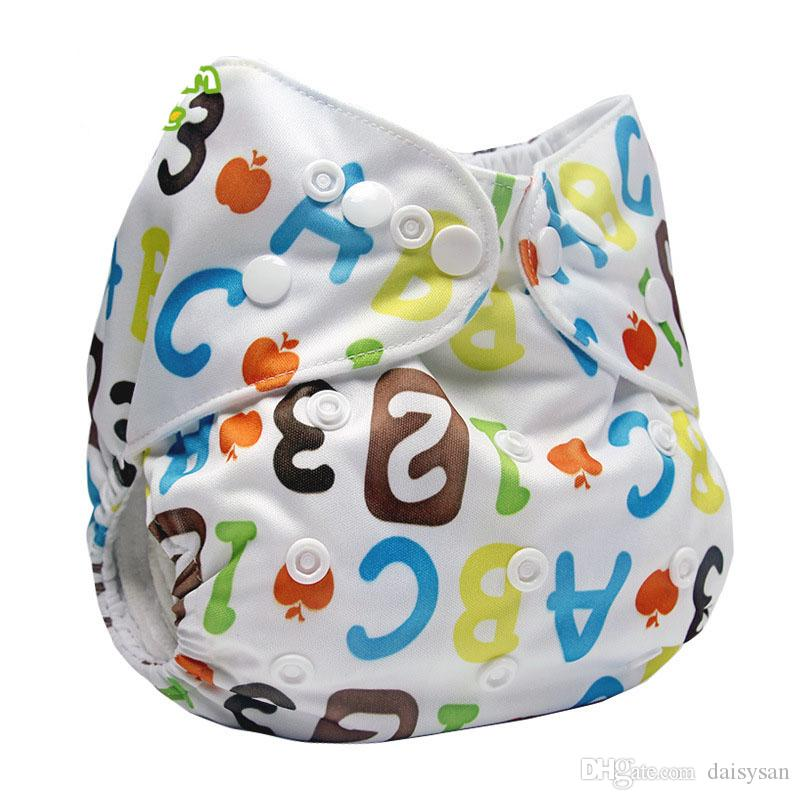 7abab44df Cloth Diaper Washable Reusable Infant Nappy Cover Waterproof PUL ...