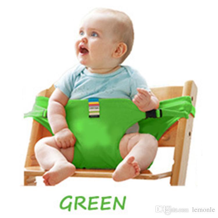 كرسي الطفل المحمولة الرضع مقعد المنتج الطعام الغداء كرسي / حزام الأمان حزام تغذية عالية كرسي تسخير الطفل كرسي مقعد