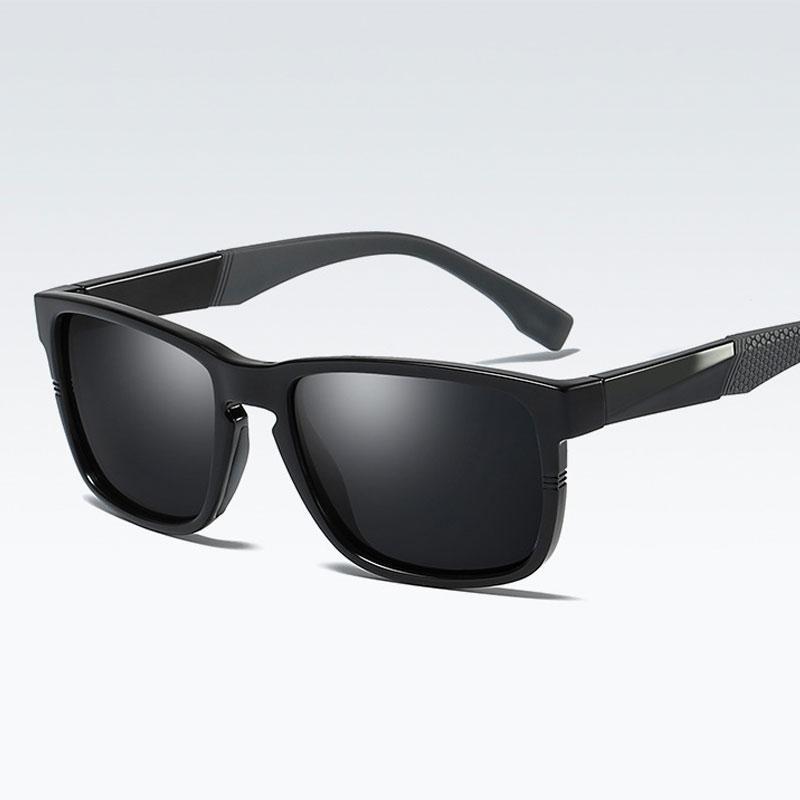 6aa9c53142 2018 New Arrival TR90 Polarized Sunglasses Men Square Fashion Driving Sun  Glasses Polaroid Lens UV400 Gafas De Sol Polarized Sunglasses Men Sunglasses  Men ...