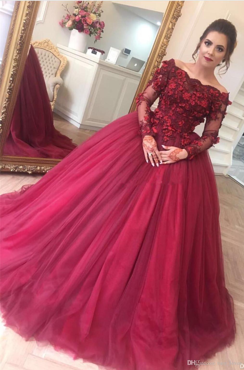 2017 Vestidos De Fiesta Off Shoulders Ball Gown Quinceanera Dresses