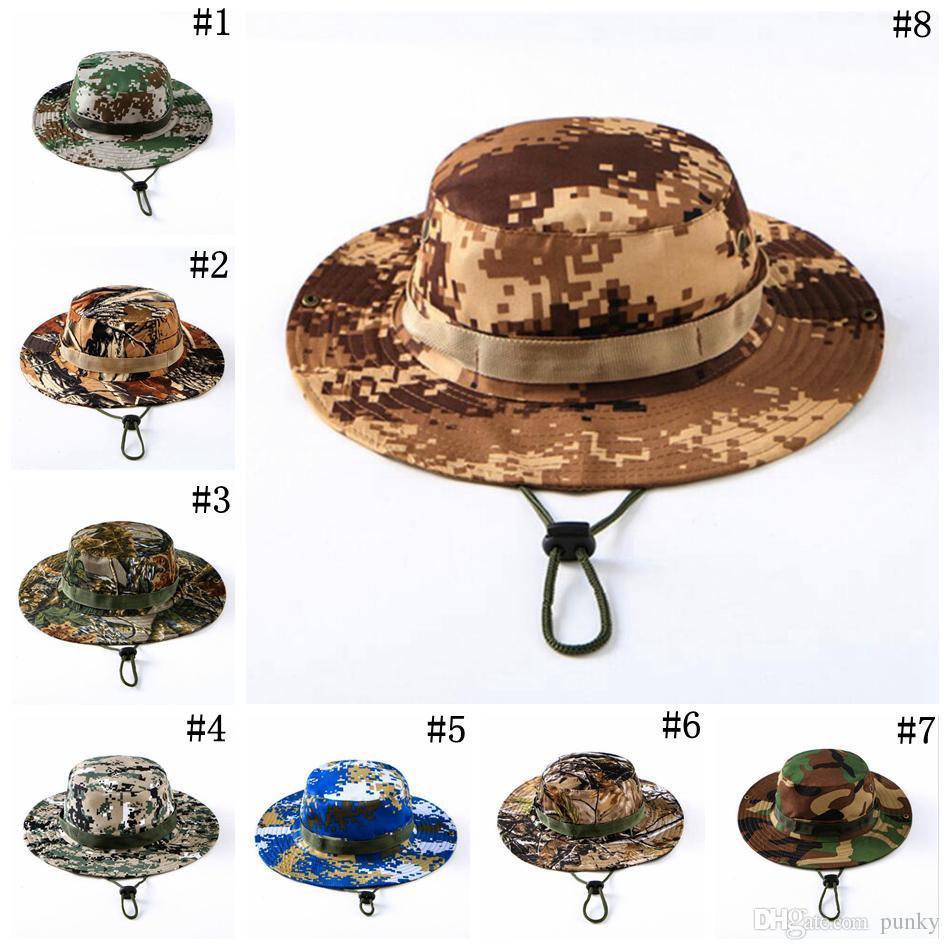 Acquista Tactical Bucket Beanie Hats Airsoft Sniper Camouflage Cap Nepalese  Esercito Militare Accessori Militari Americani Escursionismo Cappelli 500  Pz A ... c2d38062f769