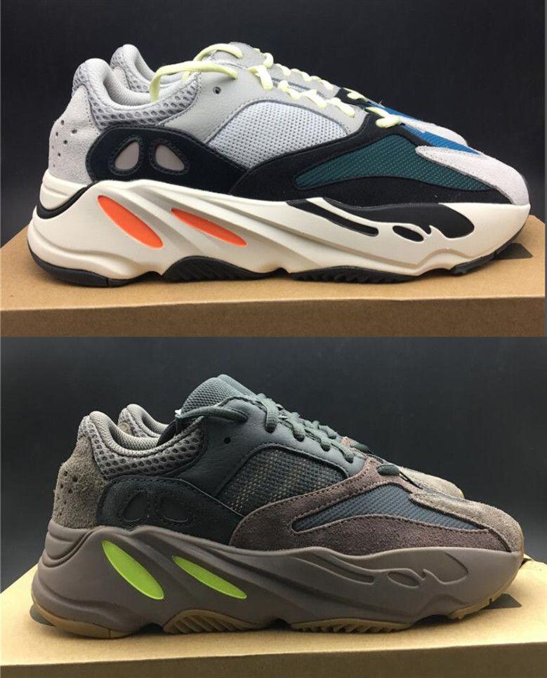 762364e6c91 Men Kanye West Running Shoes Mauve Wave Runner 700 3M Material OG EE9614  B75571 Women Fashion Trainers Designer Sneakers Mens Kanye West Shoes  Trainer ...