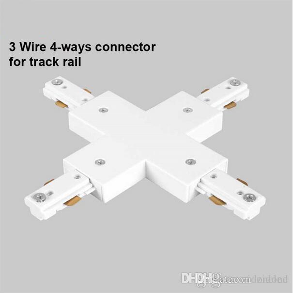 3 Punkt Beleuchtung | Grosshandel Led Schienen Verbindungsstuck Gerade Verbindungsstucke 3