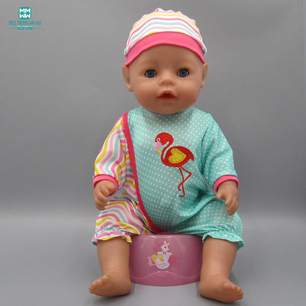 Baby Born Doll Clothes Dress Fit 43cm Zapf Baby Born Doll Cartoon Siamese  Crawling Clothes + Hat Dolls Accessories Cheap Dolls Accessories Baby Born  Doll ... 975f0092cfd5