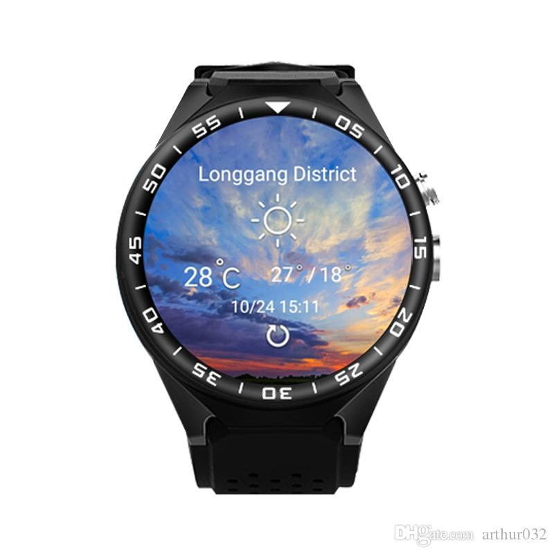 Original ZGPAX S99C 3G Smart Watch MTK6580 Quad Core 1G 16GB Camera Android 5.1 Heart Rate Monitor WCDMA GPS WIFI Bluetooth 4.0 Smartwatch