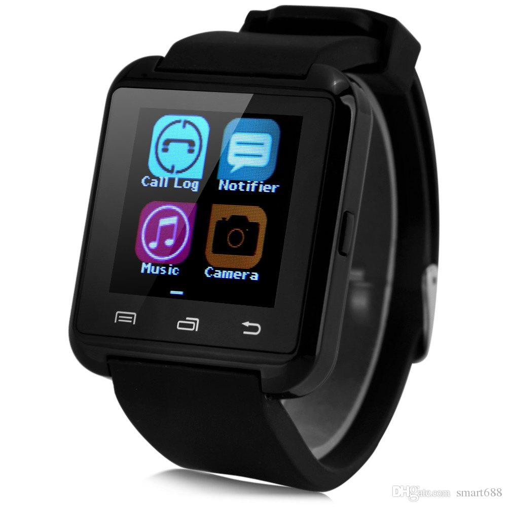 promo code 1536e 3913b U8 Smart Watch Bluetooth Toush Screen Smartwatch Support remote Control  Video for Smartphone