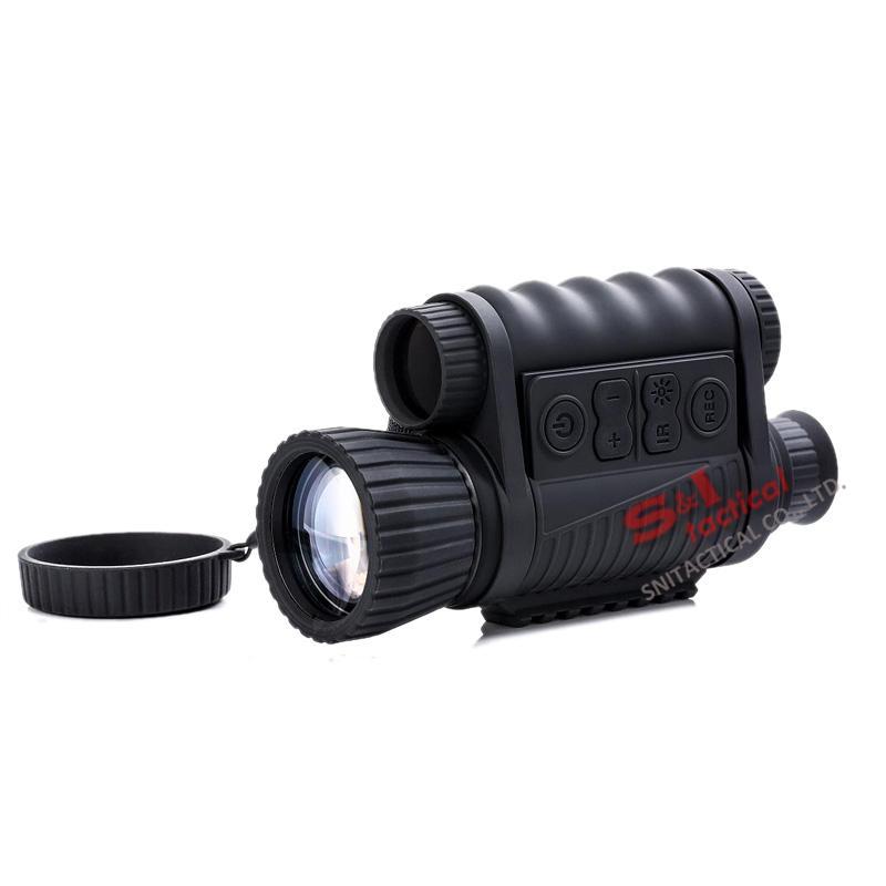 WG650 Jacht Night Vision Optics 6x50 Digital Night Vision Rifle Scope Infrarood NV Monoculair 200m bereik met gratis 32 GB-kaart