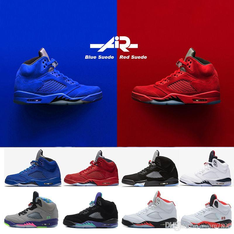 a0a04a9449b8 High Quality 5 5s Black Metallic 3M Reflect Black Grape Oreo Basketball  Shoes Men 5s Red Suede CDP White Cement Sneakers With Box Cheap Heels  Comfort Shoes ...
