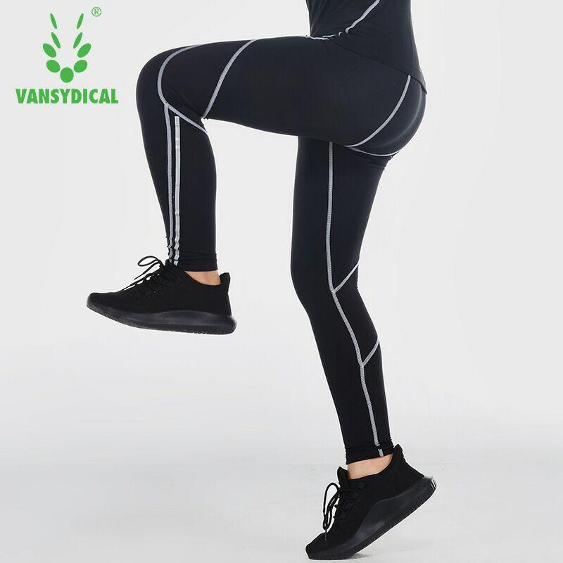 0e8f58ce7f Vansydical Kids Sports Running Tights Boy's Compression Basketball Football  Leggings Breathable Quick Dry Fitness Training Pants
