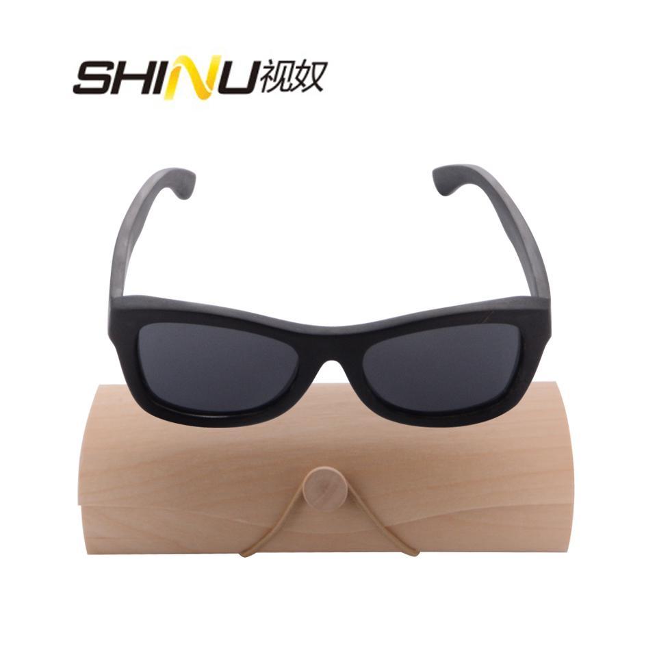 b5dad23f07 Compre Gafas De Sol De Madera De Los Hombres De Alta Calidad Marco De Madera  De Ébano Real Vidrios De Sol Polarizados Protección UV400 Que Conduce Los  ...