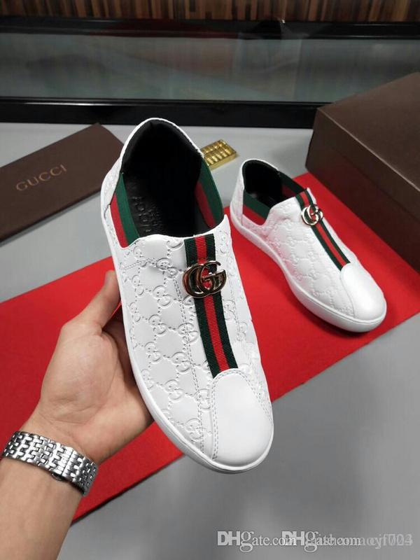 ef926c3b97c 2019 High Studded Spikes Casual Flats Red Bottom Luxury Shoes For Men And  Women Party Designer Sneakers Lovers Genuine Leather Driving Shoes Cheap  Trainers ...