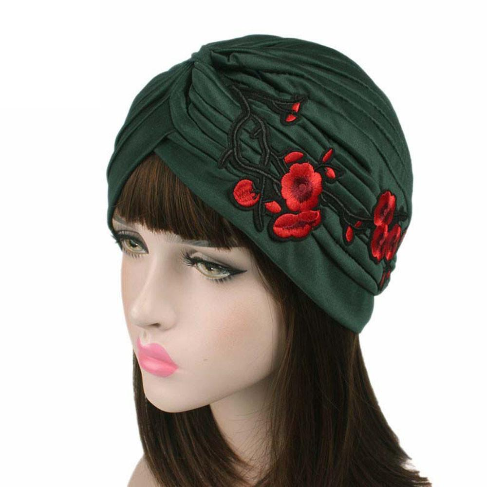 Compre Sombrero De Moda Mujeres Beanie Bordado Cáncer Gorro Gorro Turbante  Cabeza Sombreros Para Mujeres Gorras Mujer Casquette Gorras Mujer A  20.27  Del ... c92b40d0c50