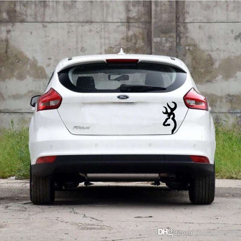 automóvil exterior accesorio reflexivo coche pasttor 18 * 8 CM personalidad diseño coche vehículo calcomanía CA-0073