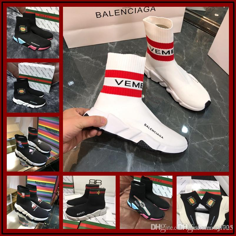 379421d3ba4 High Quality Famous Brand Men Casual Shoes Black Red White High Top Genuine Leather  Men S Flats Medusa Luxury Sneakers Size 35 45 Football Boots Womens ...