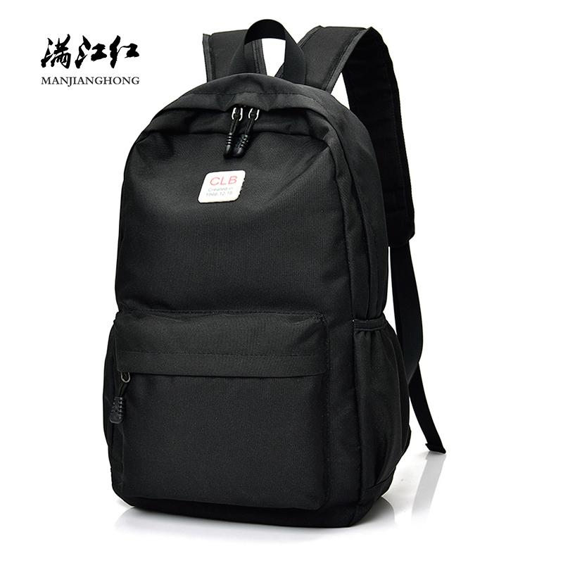 880ad8ac4a Men Backpack Travel Waterproof Nylon 14 Inch Laptop Bag Fashion School For  Teenage Girls Rucksack Feminina Mochilas Sac A Dos Drawstring Backpack  Black ...