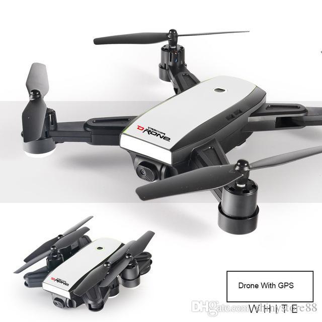 Folden GPS Drones RC Oyuncak HD WIFI Kamera FPV Rakım Tutun Modu Katlanabilir RC Helikopter için çocuk hediye Uzaktan kumanda uçak