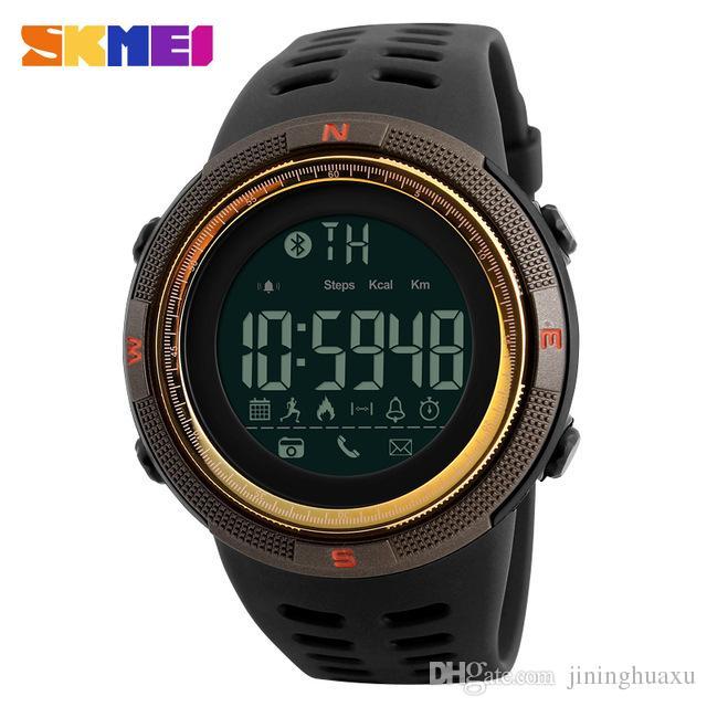 15604b372507 Compre SKMEI Hombre Reloj Inteligente Podómetro Calorías Podómetro  Multifunciones Relojes Deportivos Recordatorio Relojes De Pulsera Digitales  De Moda ...