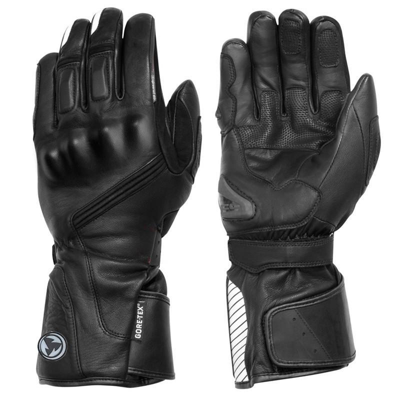 zapatos casuales diseño superior promoción especial ROCK BIKER 2017 Revit winter warm waterproof gloves Motorcycle gloves  cycling Guantes moto invierno leather Gants M-XXL