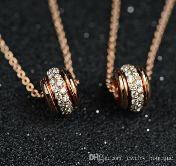 Gold diamond pendants designs 18k rotate necklace elegant jewelry gold diamond pendants designs 18k rotate necklace elegant jewelry private custome rotate necklace gift packing for lady gold diamond pendants designs aloadofball Images