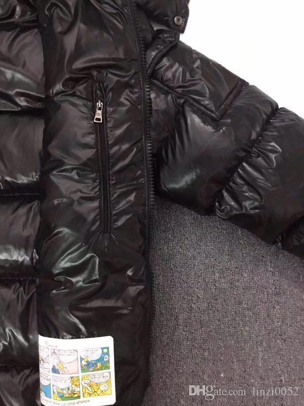 Toptan M Erkekler Rahat Aşağı Ceket MAYA Aşağı Palto Erkek açık Kürk Yaka Sıcak Tüy elbise Kış Coat dış giyim dış CEKETLER giymek