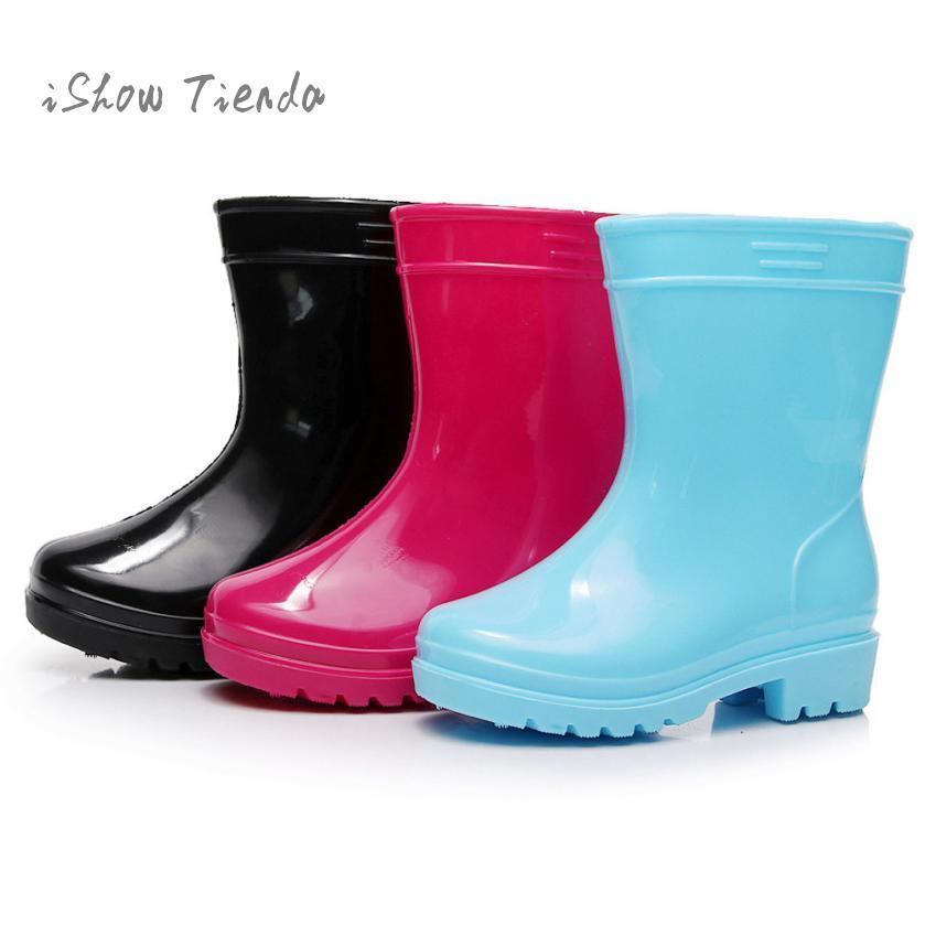 087d0df4a0770 Rubber Shoes Baby Kids Children Rain Shoes Japan Rain Boots Mini Children  Solid Color Non Slip Waterproof Boots Childrens Boots Kids Winter Boots  From ...
