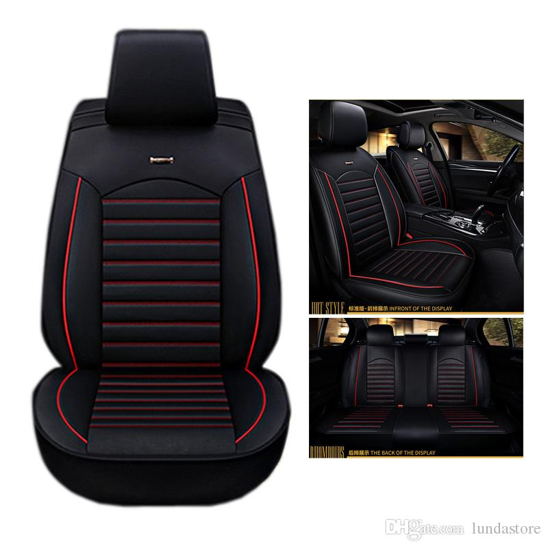 High Quality Special Leather Car Seat Covers For Jaguar All Models XF XE XJ F PACE TYPE Pu Cushion Unique Automotive Accessories