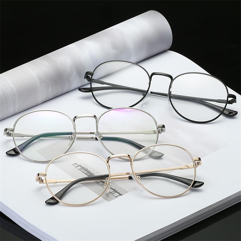 Großhandel Mode Vintage Frauen Brillen Rahmen Plain Spiegel Klare ...