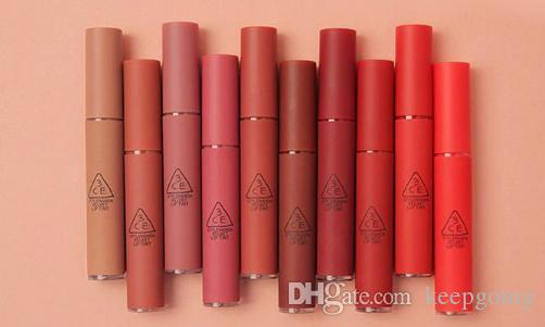 New 3CE Matte Lipstick Hottest Long Lasting Waterproof 3CE Velvet Lip Tint Matte Nude Lip Sticks