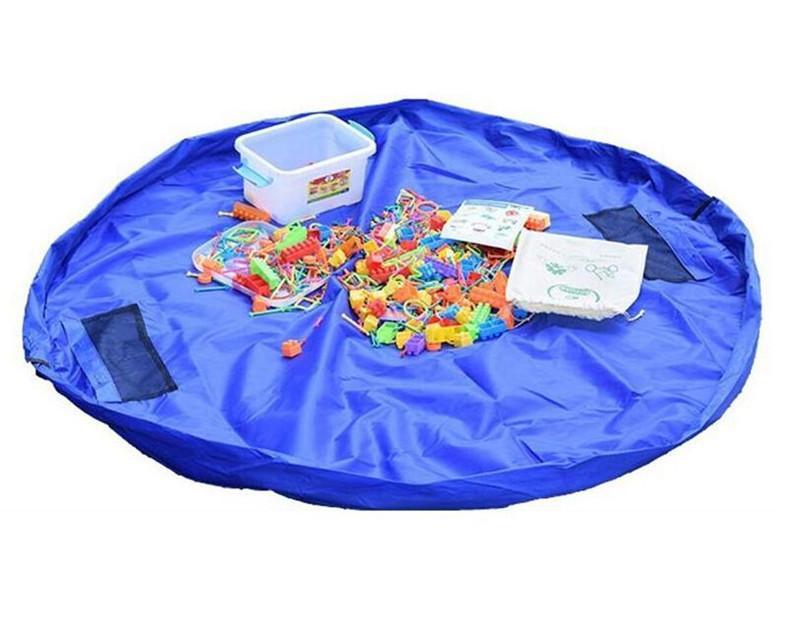 Jouet Sac De Rangement Portable Bébé Enfants Poupée Jouet Organisateur Étanche Tapis De Jeu Simple Blocs de Construction Buggy Sacs Coussin Extérieur