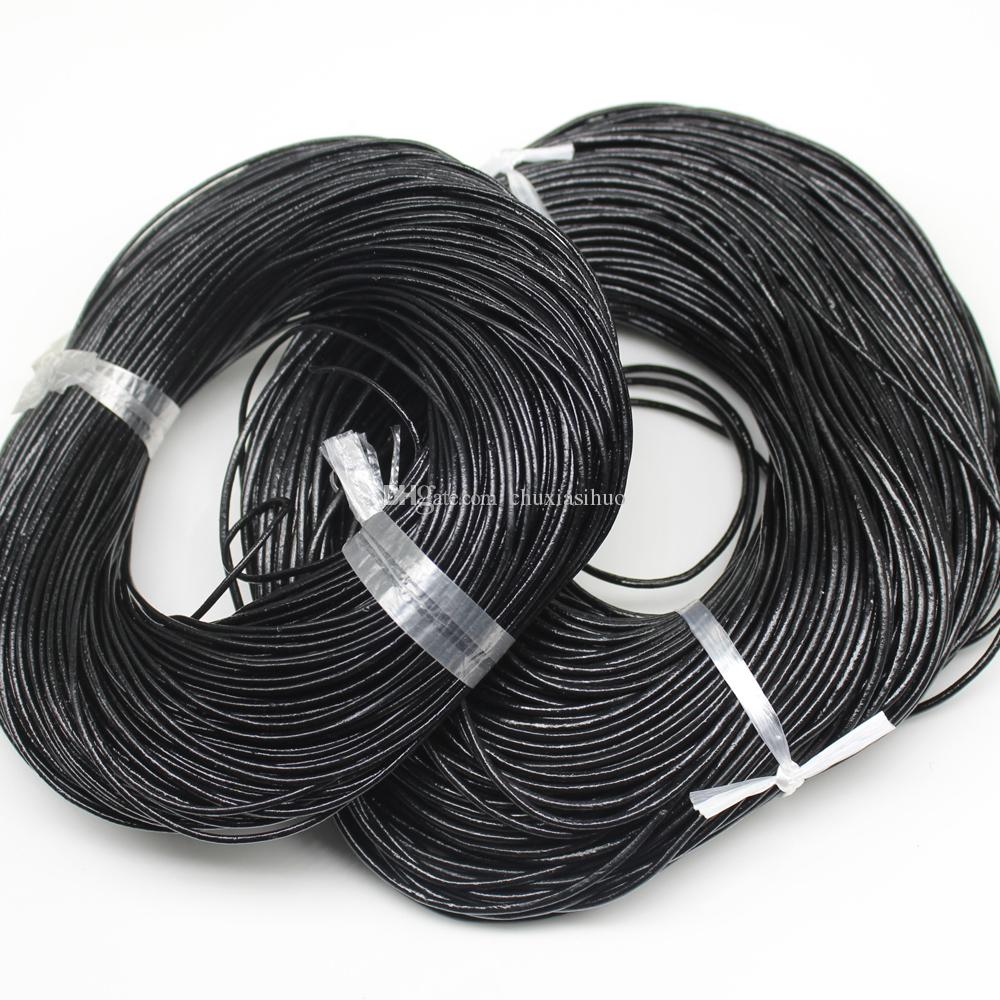 100 Yards Wire Coil 15 Mm Diameter Size Multi Color Leather Rope Pull Cord Wiring For Jewelry Making 15mm Online With
