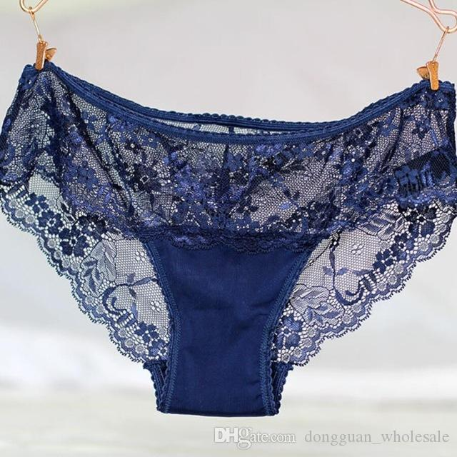 2019 Women S Panties Sexy Lace Underwear Women Transparent Seamless Panties  Plus Size Womens Briefs Lingerie Underpants Undies Solid From  Dongguan wholesale ... a4765abfe