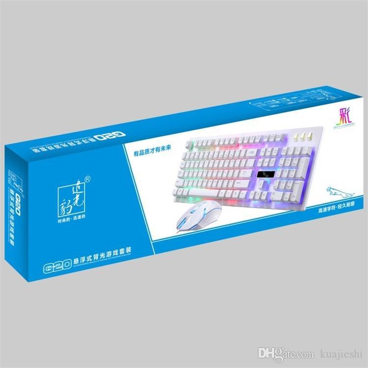 بدلة فأرة مفاتيح تعليق قبعة لوحة المفاتيح مجموعات الفأر نوع البدلة السلكية الاتصال بالكمبيوتر ، وسلك الماوس ، لوحة المفاتيح السلكية.