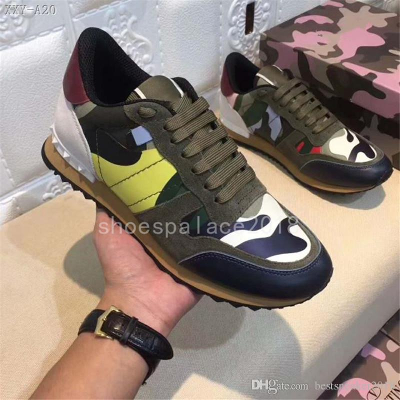 f1a7988d7f7 2018 High Quality Various Styles Mens Comfort Casual Shoe Rivets Camouflage  Shoes Casual Style Fashional Design Men Shoes Luxury Shoes Sneakers Shoes  Geox ...