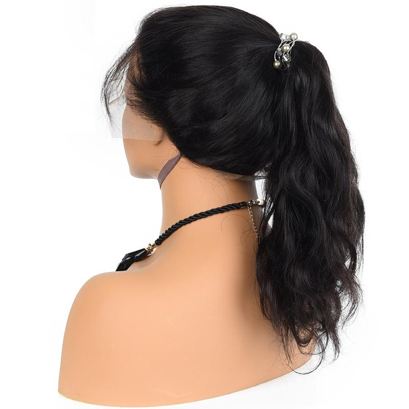 Brazilian Virgin Remy Hair Wigs Front Lace Wig Body Wave 1B#2#4#27#30# 100% Human Hair Full Lace Wigs 150density With Baby Hair