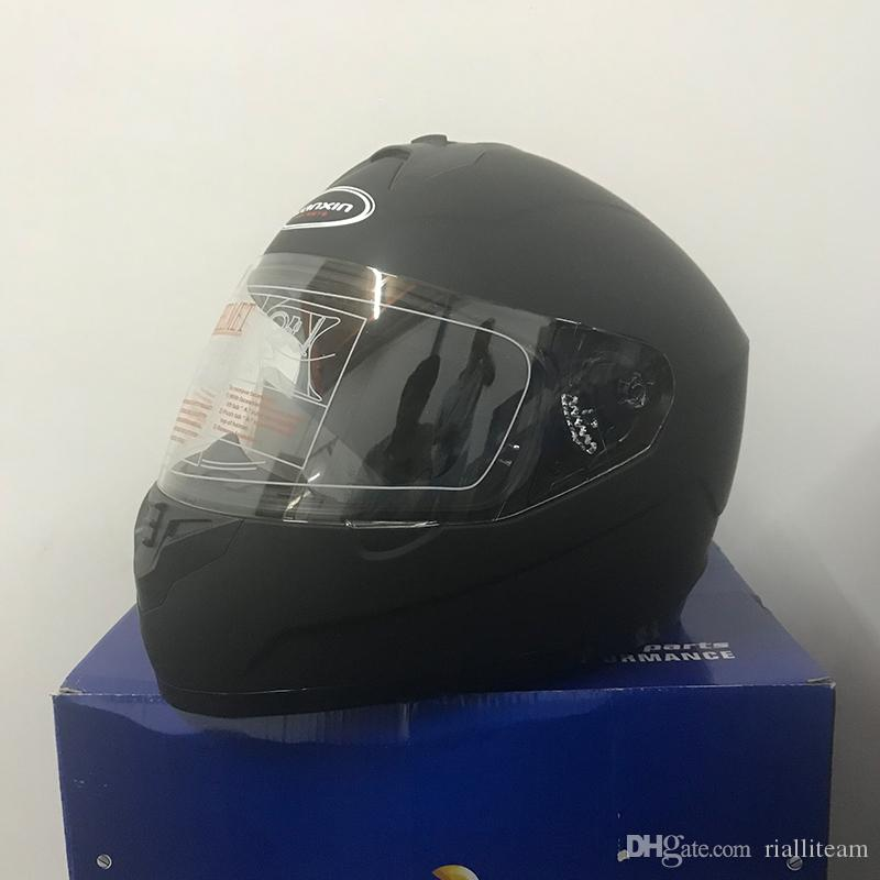 Wholesale 2018 NEW Genuine High Quality DOT Certification UNV Half Face Helmets Open Face Helmet With UV Anti-fog Lens Motorcycle Helmets