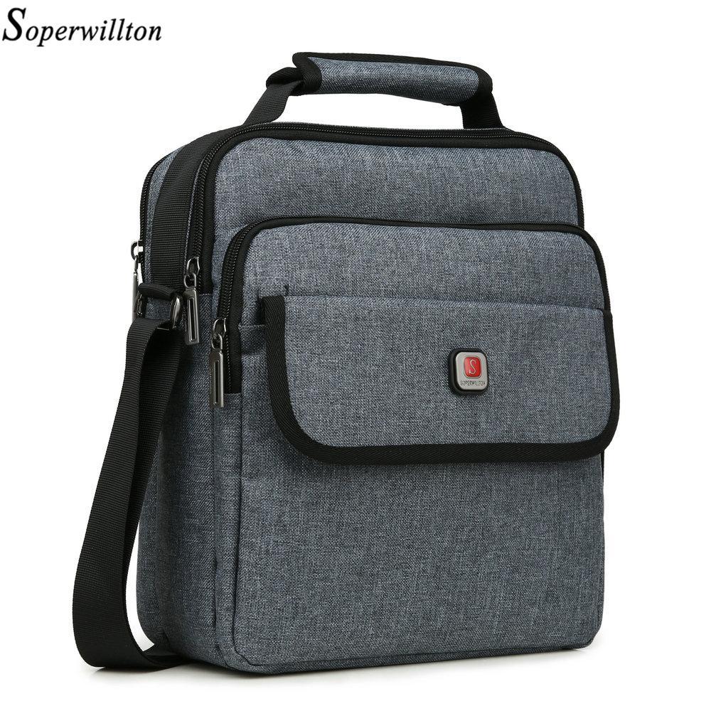 6742104e93 Soperwillton Men Shoulder Bags USB Port Handbag Men S Bag Totes Brand 2018  Women Handbag Shoulder Crossbody Bag Female Male Messenger Bags For Women  Leather ...