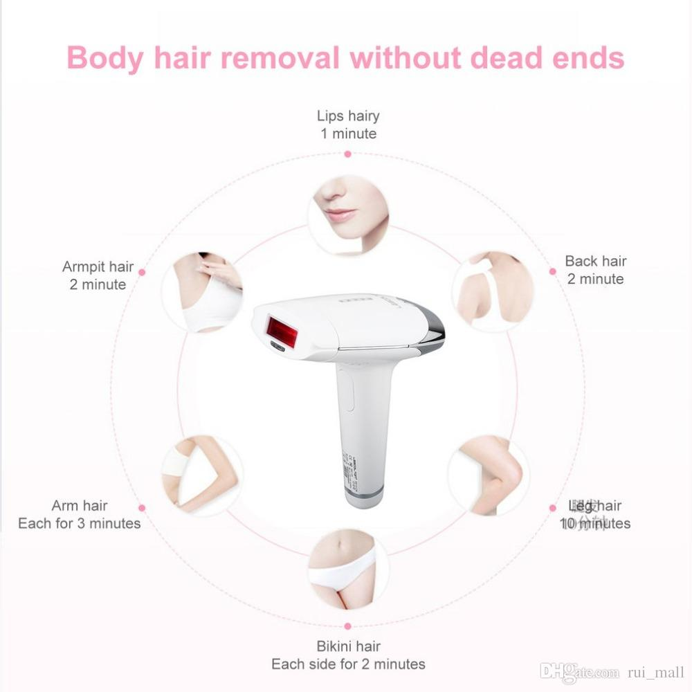 Best sale Safe Use Razor Face & Body Laser Hair Removal Painless IPL Home Pulsed Light Unisex for man and women