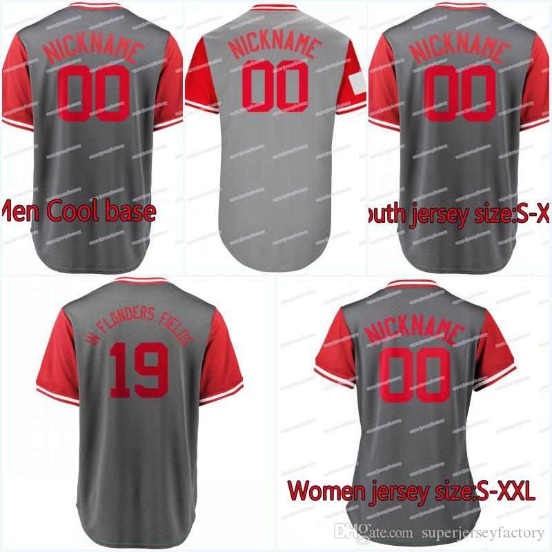 ae77bc2cd 2018 Players Weekend Jersey 19 Votto In Flanders Fields 34 BAILEY ...