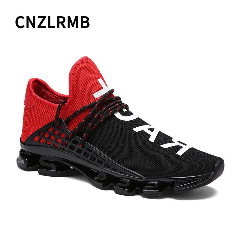 47 Libre De 46 Para Zapatillas Hombre Blanco Deporte Rojo Homme Correr 48 Tamaño Negro Al Aire Sport Chaussure nPN8OkX0w