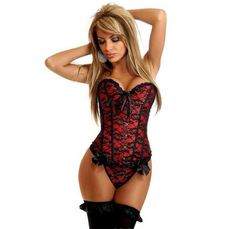 579747352d Sexy Corset Lingerie Costumes Women Erotica Shapewear Female Wasit  Straitjacket Seductive Tights Underwear Shaper Lady CA365 S18101509 Sexy  Cami Set Sexy ...