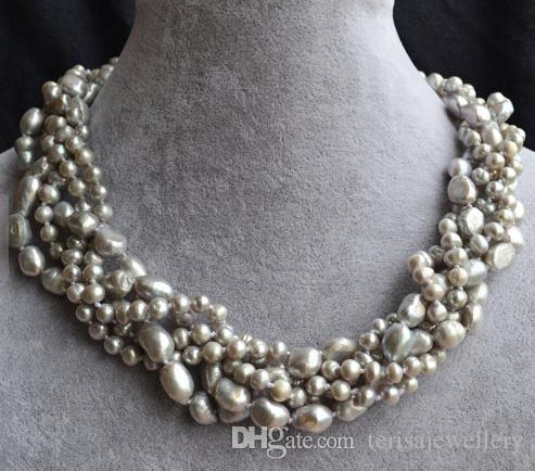 5a666ce30df7 Compre Collar De Perlas Genuinas